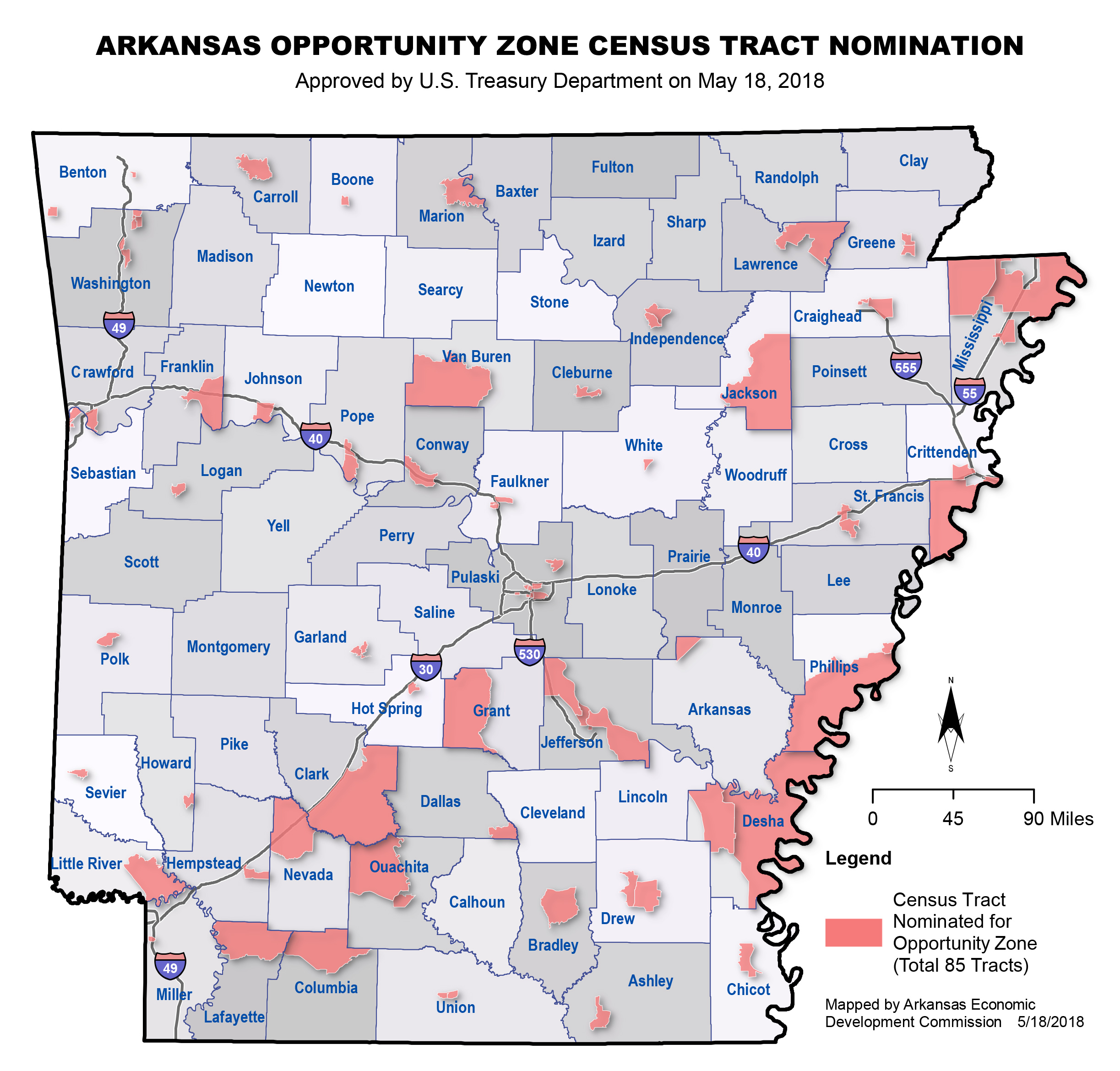 Arkansas Opportunity Zones is a new incentive for private ...