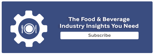 Food And Beverage Newsletter Signup CTA