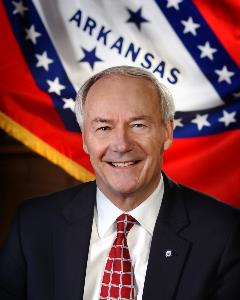 Governor Asa Hutchinson's official portrait